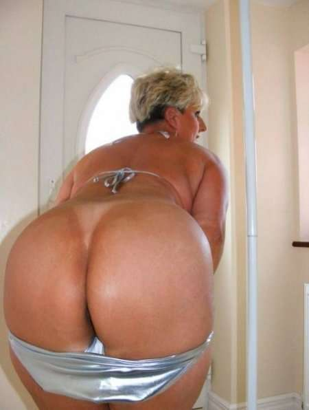 Grannie with big ass